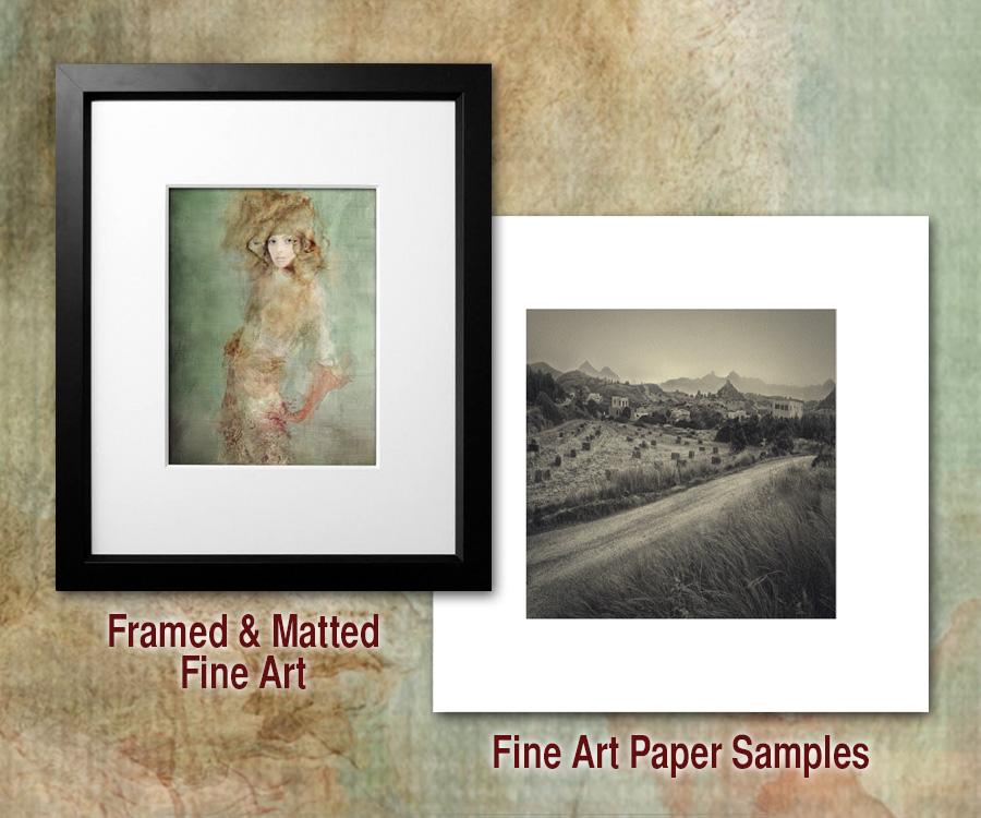 Fine Art Paper Samples